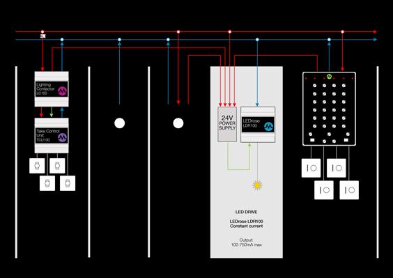 LEDRose Schematic